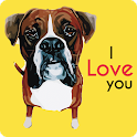 Cute Boxers Dog Wallpaper icon