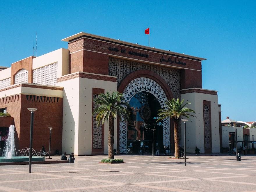 Железнодорожный вокзал в Марракеше