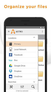 ASTRO File Manager BETA Screenshot