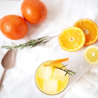 Tangerine Rosemary Mocktail