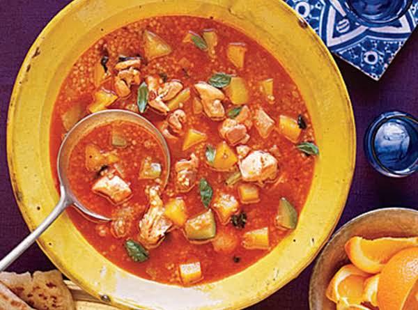 Moroccan Chicken And Butternut Squash Soup Recipe