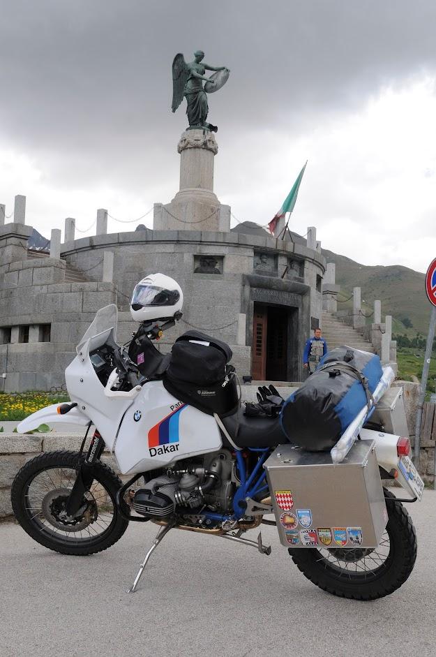 Schicker Reiseumbau auf BMW Motorrad R 100 GS Basis