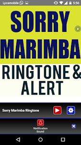 Sorry Marimba Ringtone screenshot 2