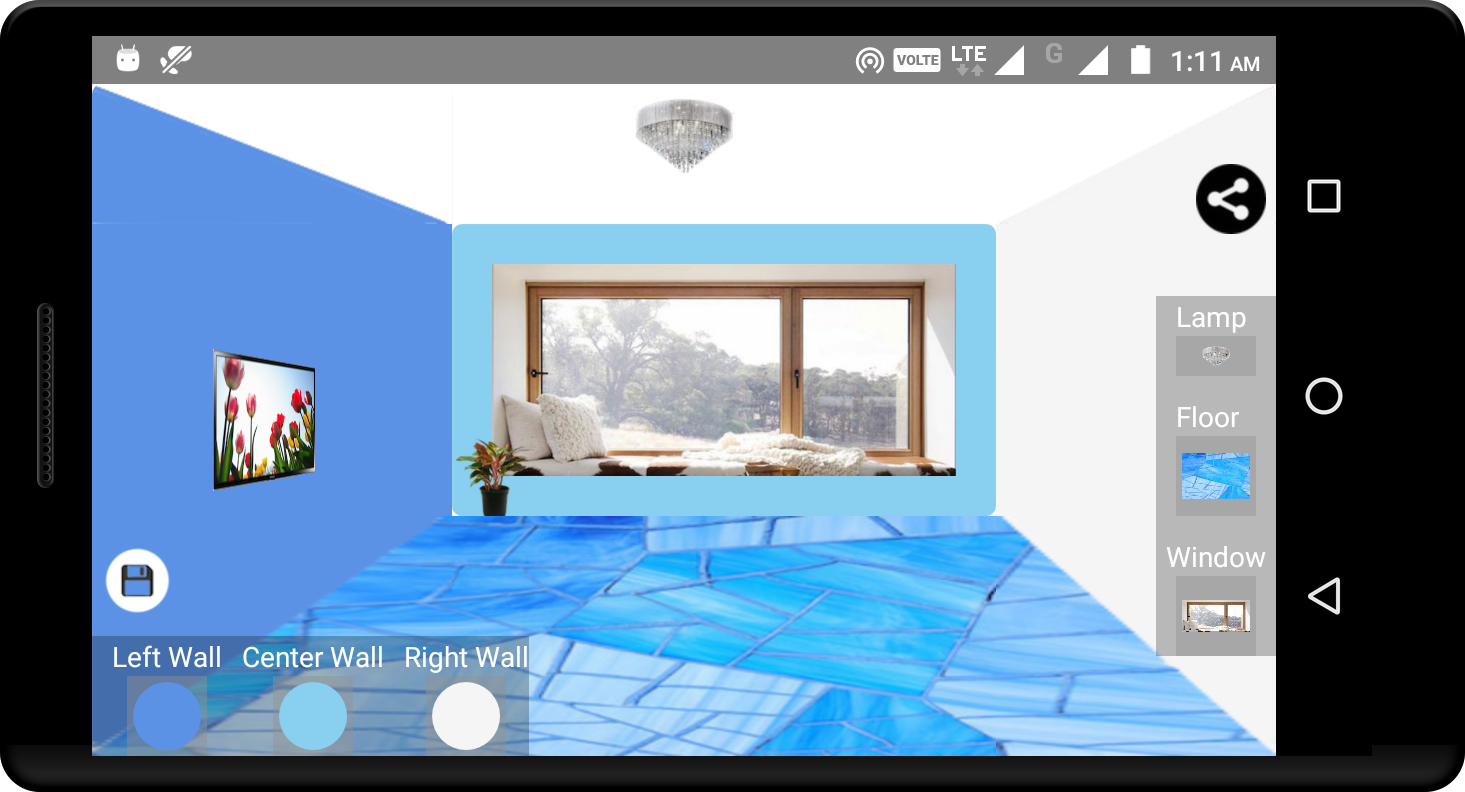 Wall color selection best android apps on google play for Best app for painting a room