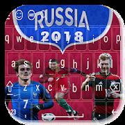 keyboard of russia 2018