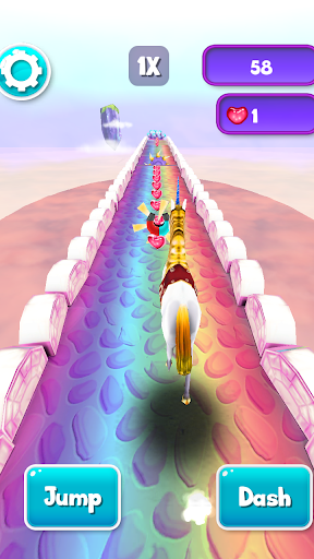 My Little Unicorn Runner 3D 2 1.1.38 screenshots 2