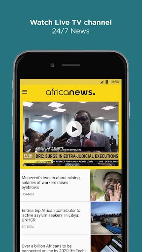 Africanews - Daily & Breaking News in Africa - screenshot