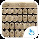 Keyboard Theme Glitter Gold icon