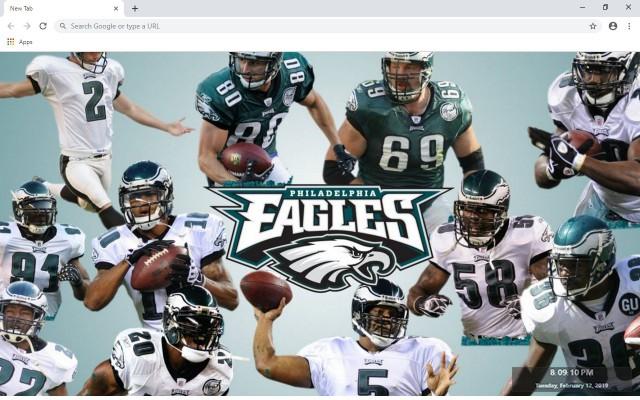 Philadelphia Eagles New Tab