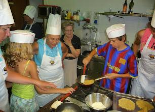 Photo: I cuochi: frico filante con patate e cipolla