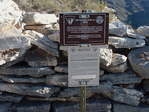Photo: BLM Archaeological signage..... Robin Steinberg.