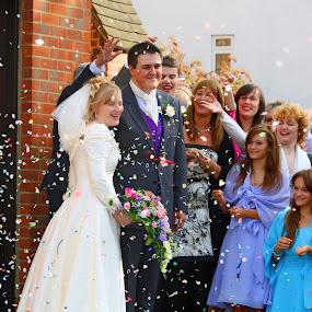The Happy Couple by Tiffany Hibbins - Wedding Reception