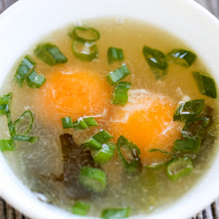 Delicious Egg Yolk Soup
