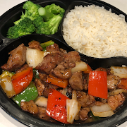 Black Pepper Beef Combo
