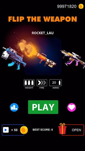 Flip The Weapon - Simulator Gun 1.0.2 screenshots 5