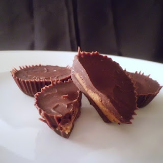 Almond Butter Cups (Low Carb and Gluten Free).