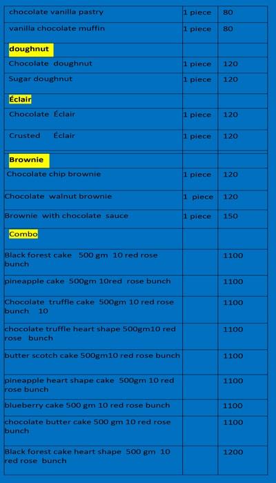 24 Hour Cake menu 5
