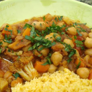Moroccan Chickpea And Lentil Stew