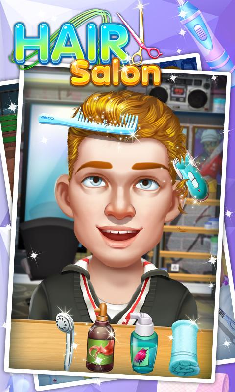 Screenshots of Hair Salon - Kids Games for iPhone