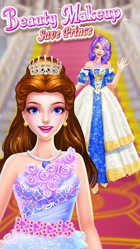 ud83dudc78ud83eudd34Princess Beauty Makeup - Dressup Salon 3.1.5017 screenshots 16