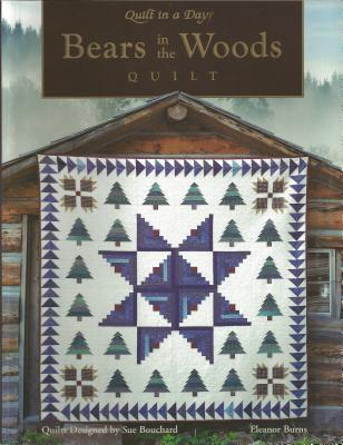 Paperback Bears in the Woods Quilt Book
