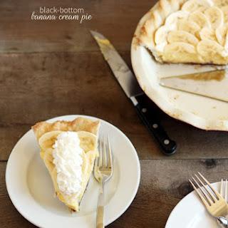 Black-Bottom Banana Cream Pie.