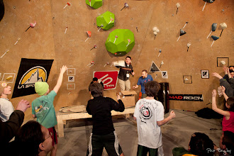 Photo: Official images of the 2012 Dark Horse Boulder Series Championships held at MetroRock Climbing Gym, Everett MA. All images (C) Pat Bagley. www.bagleyheavybags.blogspot.com www.metrorock.com www.darkhorseseries.com