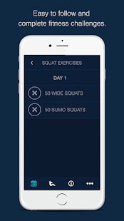 30 Day Squats Challenge- screenshot thumbnail
