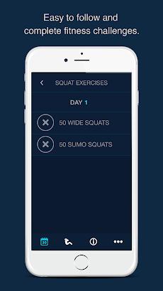30 Day Squats Challenge - Get fit nowのおすすめ画像3