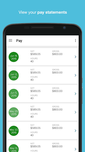 ADP Mobile Solutions Screenshot
