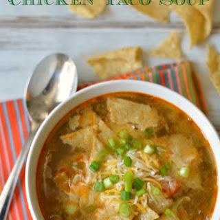 Shredded Chicken Taco Soup