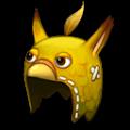 黄色いトリのあたまフードB