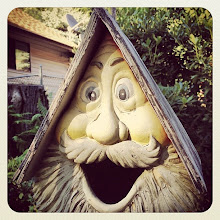 Photo: Funny bird tree house at Camp Hope, BC #intercer #house #tree #bird #birds #face #funny #laugh #mouth #smile #life #trees #mustache #green #fly #eyes #britishcolumbia #canada #hope - via Instagram, http://instagram.com/p/ccaNJ1Jfqz/