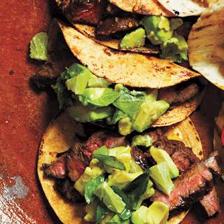Citrus-Marinated Steak Tacos.