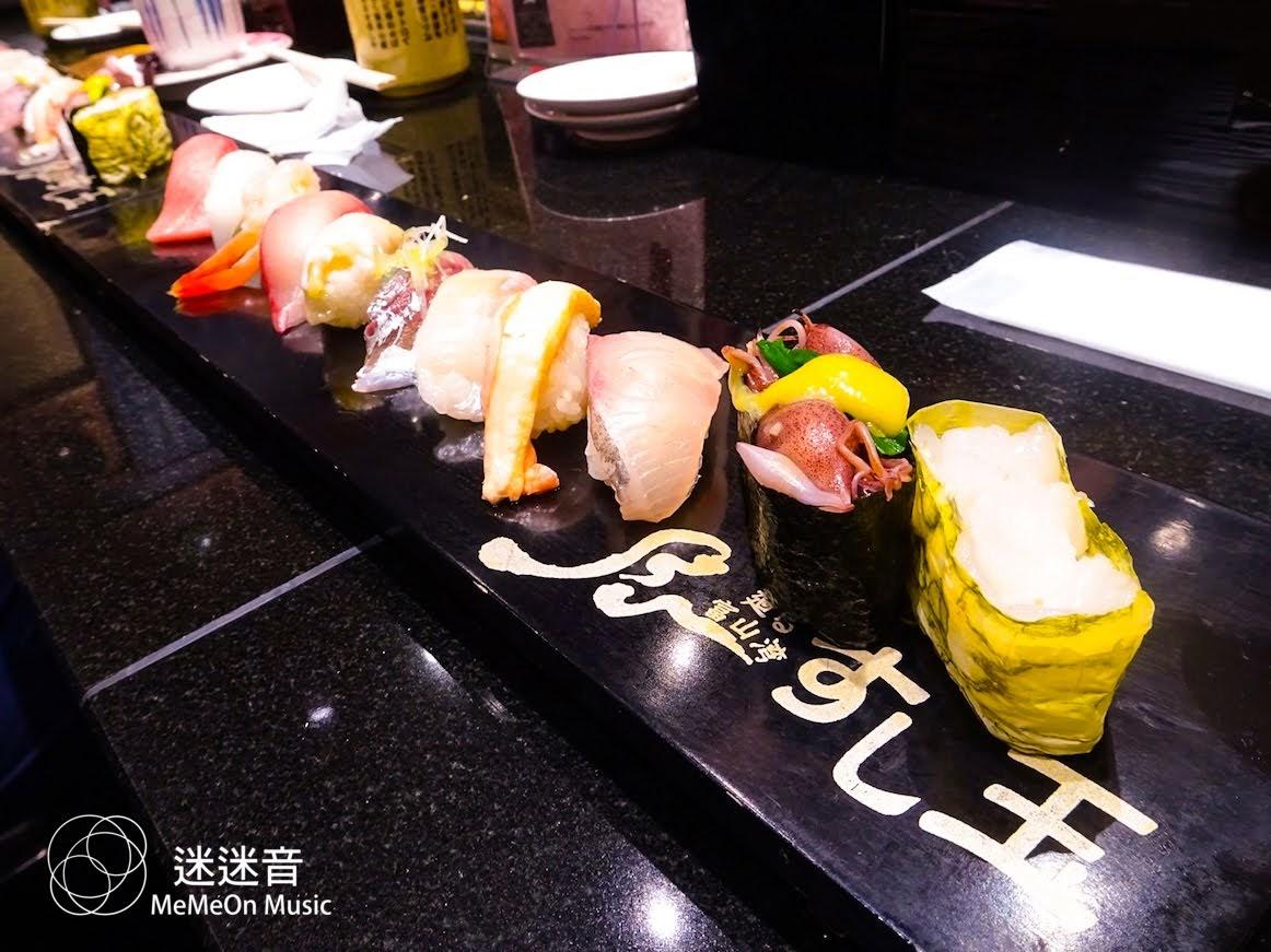 [迷迷日本] 富山 平價新鮮壽司「廻る富山湾 すし玉」 斎藤工、小栗旬、木村KAELA就吃這家
