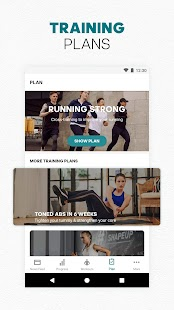 adidas Training by Runtastic - Workout Fitness App Screenshot