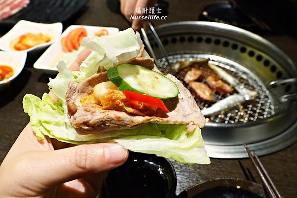 新莊鴻金寶品燒肉yakiniku.門口機器人很煩