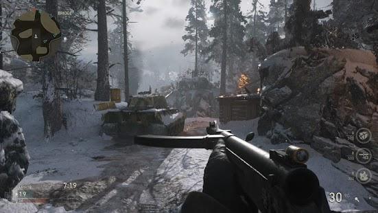 Call Of Duty WW II - náhled