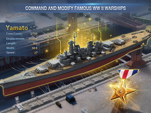 Battleship Empire: WW2 Naval Battles and Warships 1.0.2 gameplay   by HackJr.Pw 18