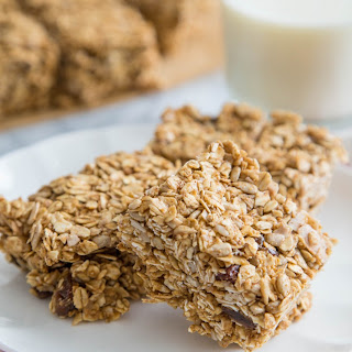 No-Bake Sunflower Oat Bars.