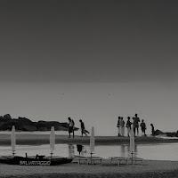 End of a beach day di