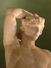 Photo: Apollo-Antinous, kopie van een origineel gemaakt door Praxiteles - 2de euuw. Het lichaam is dat van Apollo maar het hoofd is dat van Antinous.