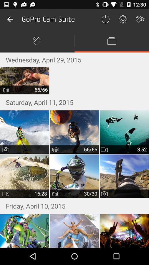 GoPro Action Cam Suite- screenshot
