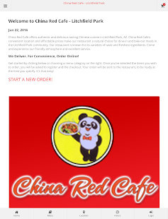 China Red Cafe Litchfield Park- screenshot thumbnail