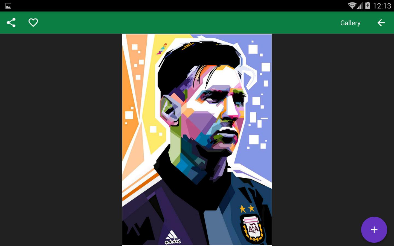 HD Lionel Messi Wallpapers Screenshot