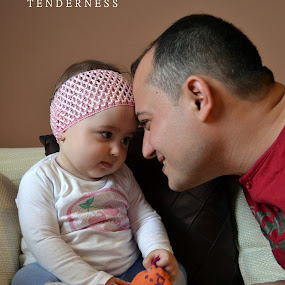 tenderness by Sorin Rizu - Babies & Children Children Candids ( father )