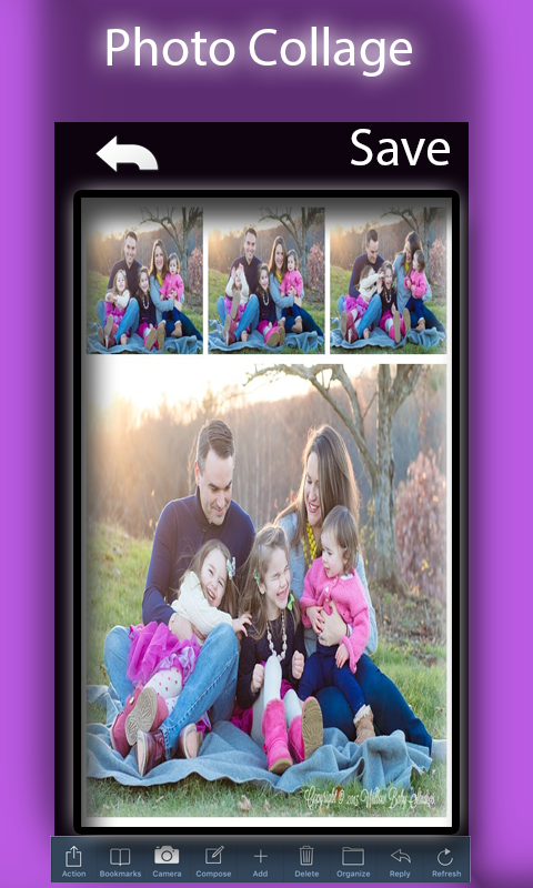 Photo Grid Collage Frames Maker Screenshot