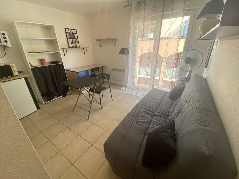 Location  studio 1 pièce 17.52 m² à Nice (06300), 500 €