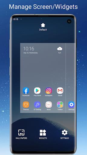 S7/S8/S9 Launcher for Galaxy S/A/J/C, S9 theme screenshots 5