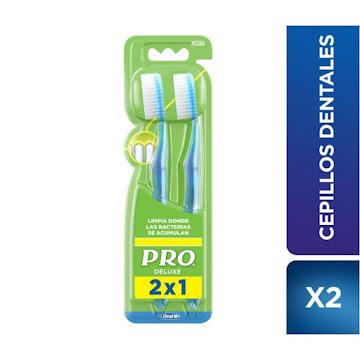 Cepillo Dental PRO   Deluxe 425 2x1 x2Und